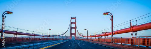 golden gate bridge early morning in san francisco california фототапет