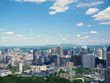Aerial view of Montreal city, Canada