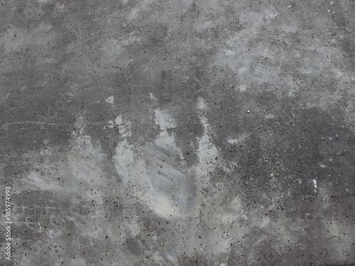 Photo  白く汚れたアスファルト