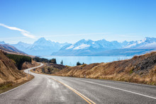 Scenic Road To Mount Cook Nati...