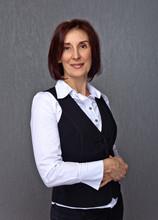 Woman In Black Vest