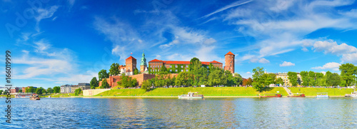 Photo sur Toile Cracovie Wawel Castle, Krakow