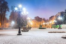 Footpath In A Fabulous Winter ...
