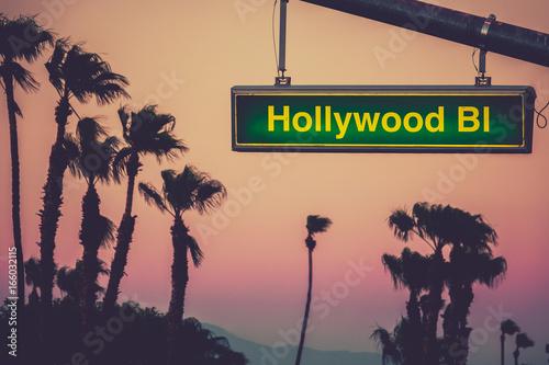 Photo  Hollywood Blvd Sign