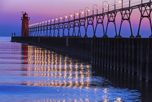South Haven, Michigan Lighthou...