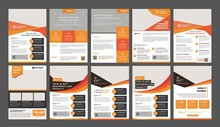 A Bundle Of 10 Templates Of A4...