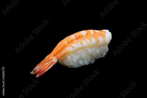 Ebi Sushi Japanese Shrimp On Japanese Ricejapanese Tradition Food