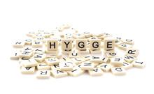 HYGGE  Spelt On Word Tiles On ...