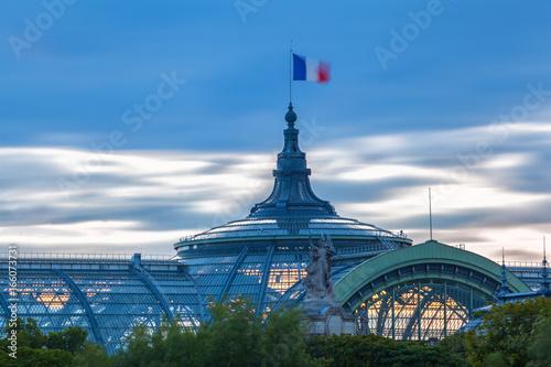 Obraz na dibondzie (fotoboard) Dach Grand Palais
