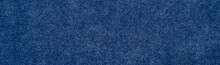 Blue Carpet / Blue Fabric Texture Background / Closeup