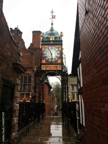 Eastgate Clock, Chester, England Fotomurales