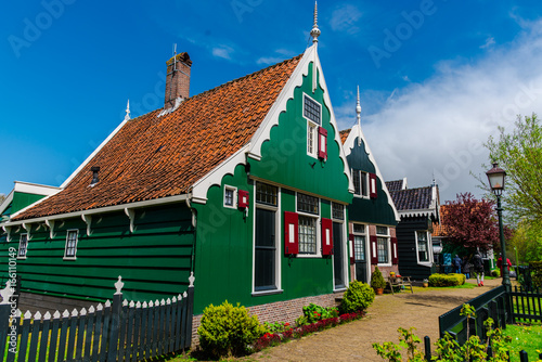 Old houses in Holland Wallpaper Mural
