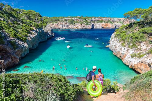 Fotografija Fantastic bathing bay on the Mediterranean - Cala Moro - Mallorca – 4898
