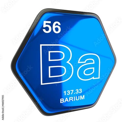 Barium Element blue Wallpaper Mural