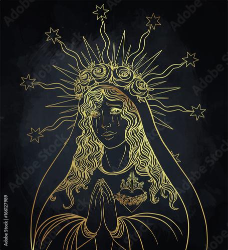 Fotografia, Obraz  Lady of Sorrow