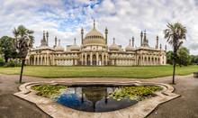 Panorama Of Brighton Pavilion,...