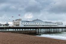 Brighton Pier In Summer