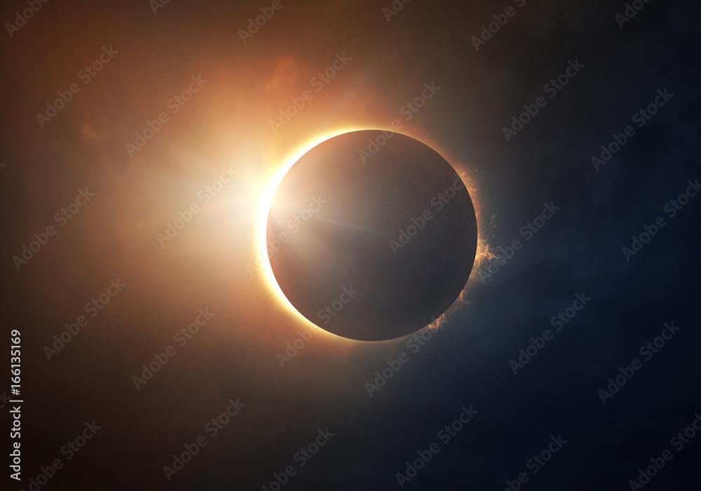 Fototapety, obrazy: Solar Eclipse