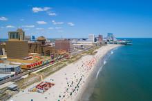 Aerial Image Atlantic City NJ ...