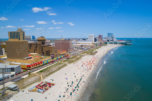 Photo Aerial image Atlantic City NJ and pier