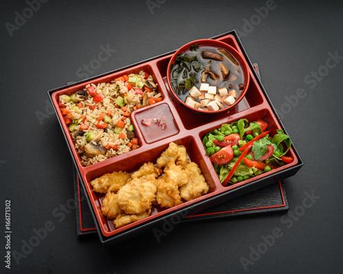 Japanese cuisine Canvas Print
