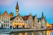 canvas print picture - Gent Ghent Belgium Flanders