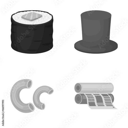 Fotografie, Tablou  business, trade, entertainment and other web icon in monochrome style