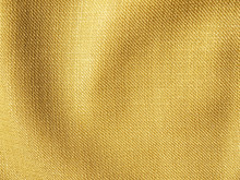 Crumpled Gold Fabric Cloth Tex...