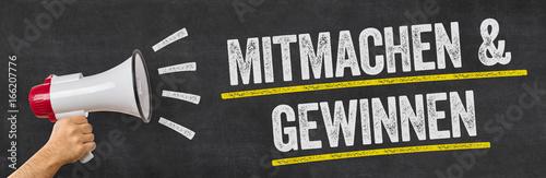 Photo Megafon - Mitmachen und gewinnen