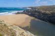 Beach and cliffs in Porto Covo