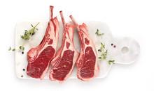 Lamb Chops With Seasoning