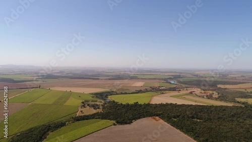 Rural Area in Sao Paulo, Brazil Slika na platnu