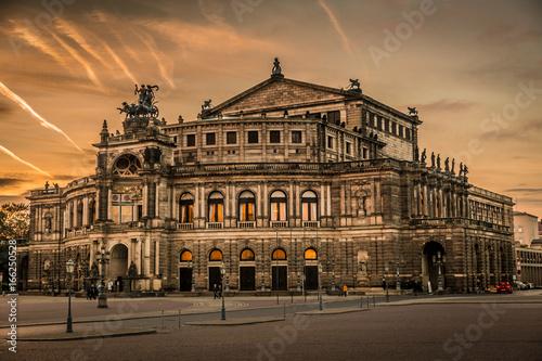Photo  Dresden am Abend