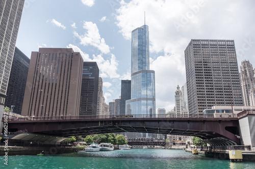 Zdjęcie XXL Rzeka Chicago