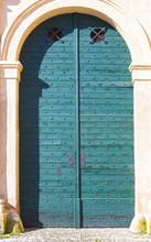 An Old Entrance Door In Salzbu...