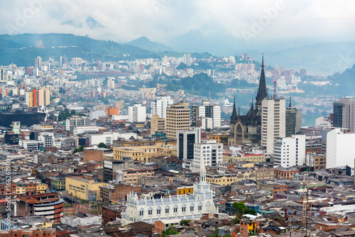 Photo Manizales Downtown and Cathedral