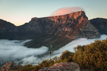 Table Mountain At Dawn 1