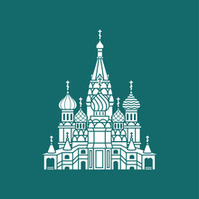 Saint Basil's Cathedral Icon