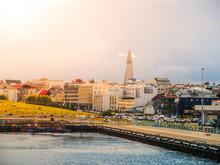 Reykjavik Cityscape Just Befor...