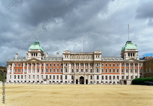 LONDON - JULY 30 : Old Admiralty Building Horse Guards Parade in London on July Canvas Print