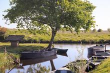 Chalands Dans Le Parc Naturel ...