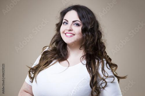 Fat woman por