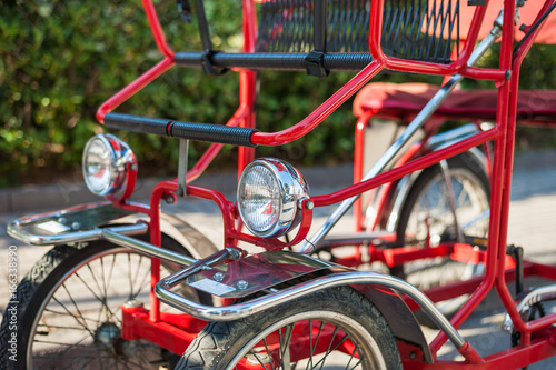 Valokuva  Typical Italian Rickshaws