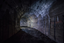 Tunnel In Abandoned Soviet Bun...