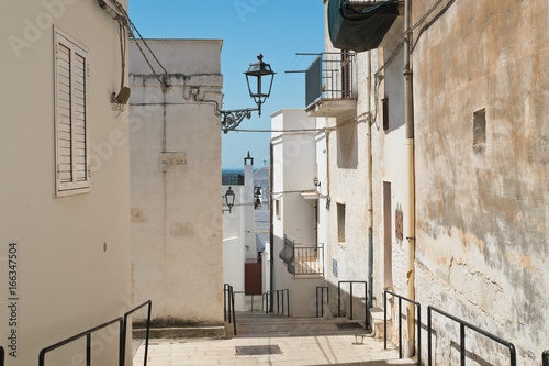 Alleyway. Massafra. Puglia. Italy. Canvas-taulu