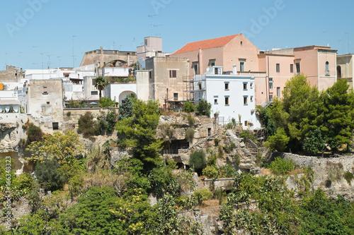 Photo  Panoramic view of Massafra. Puglia. Italy.