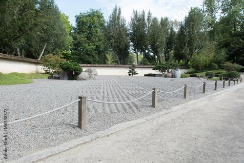 Tuinposter Weg in bos toulouse jardin japonais