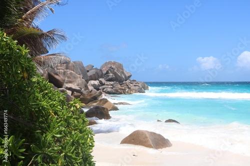 Foto op Canvas Eiland Envie de plage
