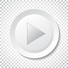 Play Icon Vector. Play Video I...