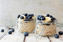 Overnight Oats With Fresh Blue...